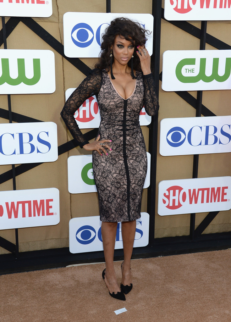 Tyra Banks CW CBS And Showtime Summer TCA Party