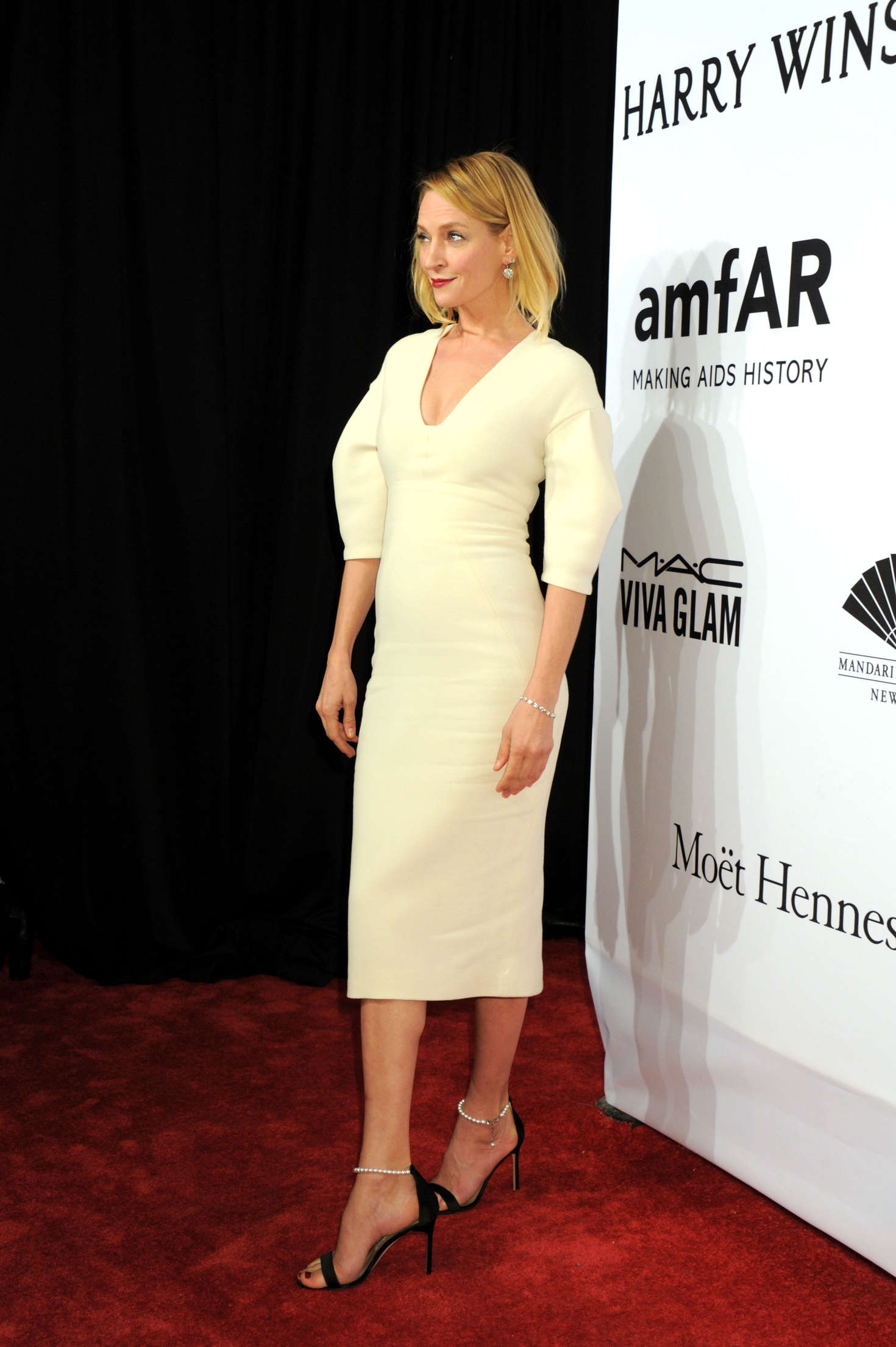 Uma Thurman amfAR New York Gala in New York