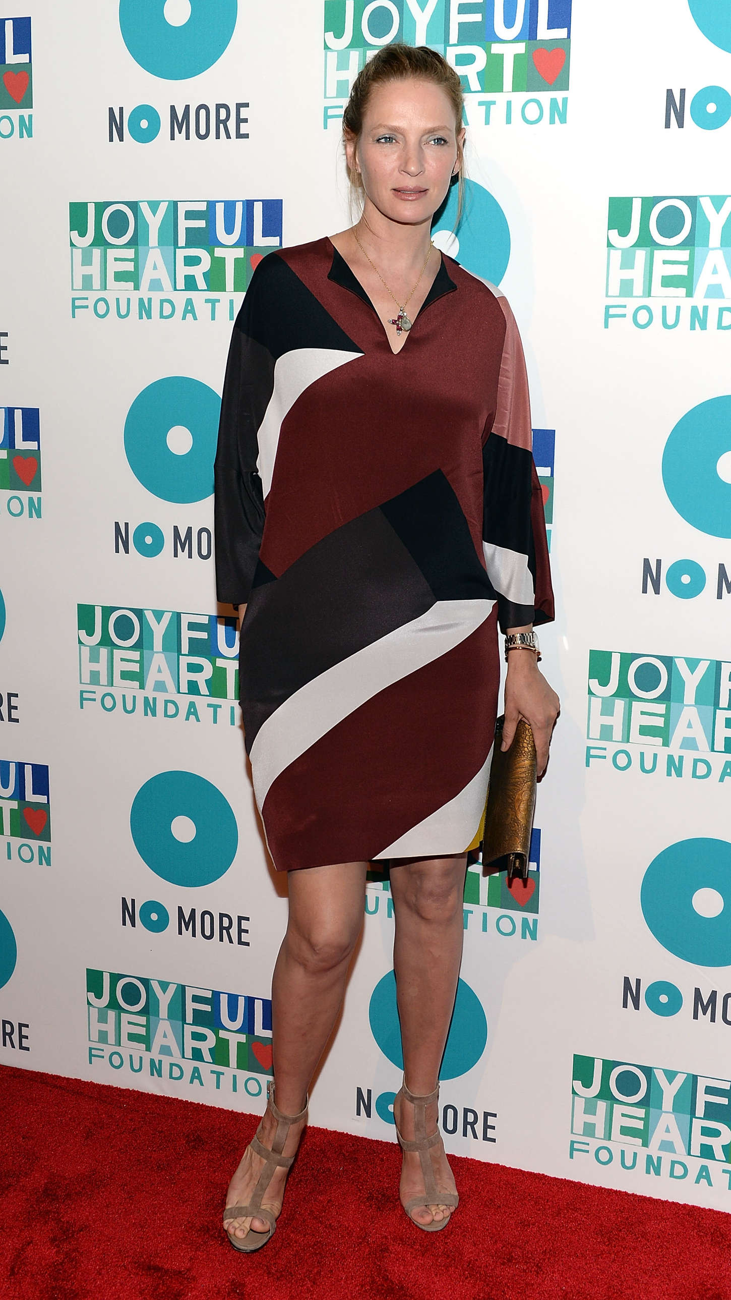 Uma Thurman Joyful Heart Foundation Gala in New York