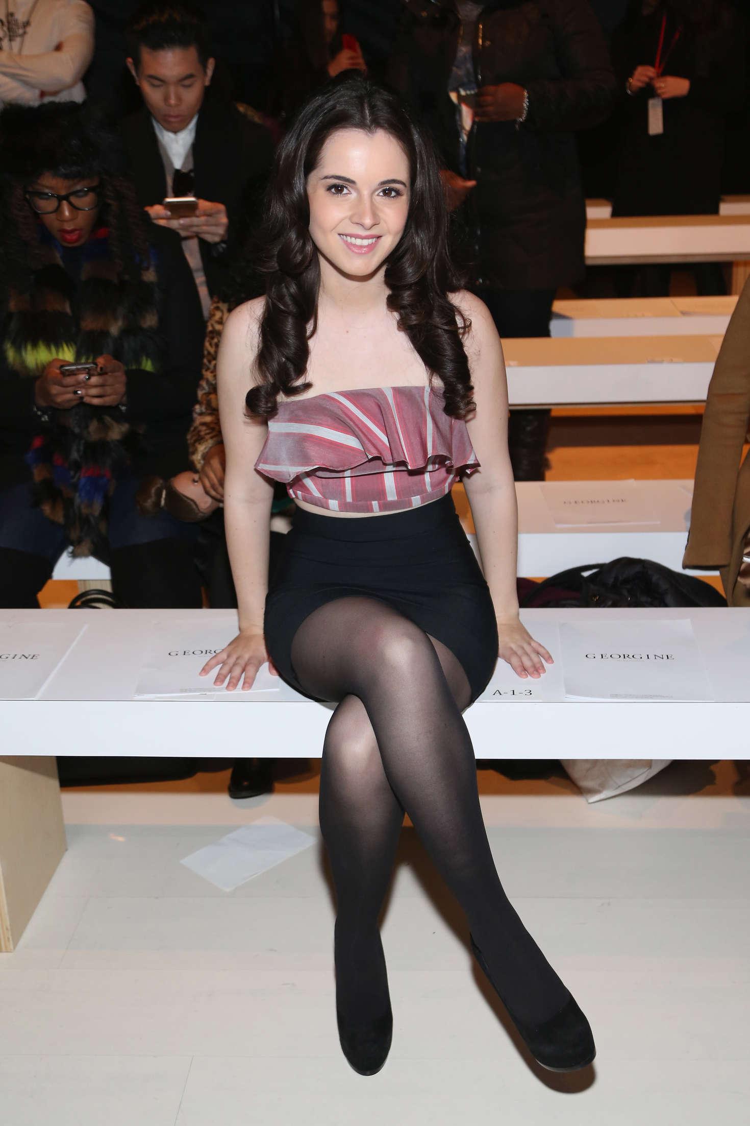 Vanessa Marano Georgine Fashion Show in New York