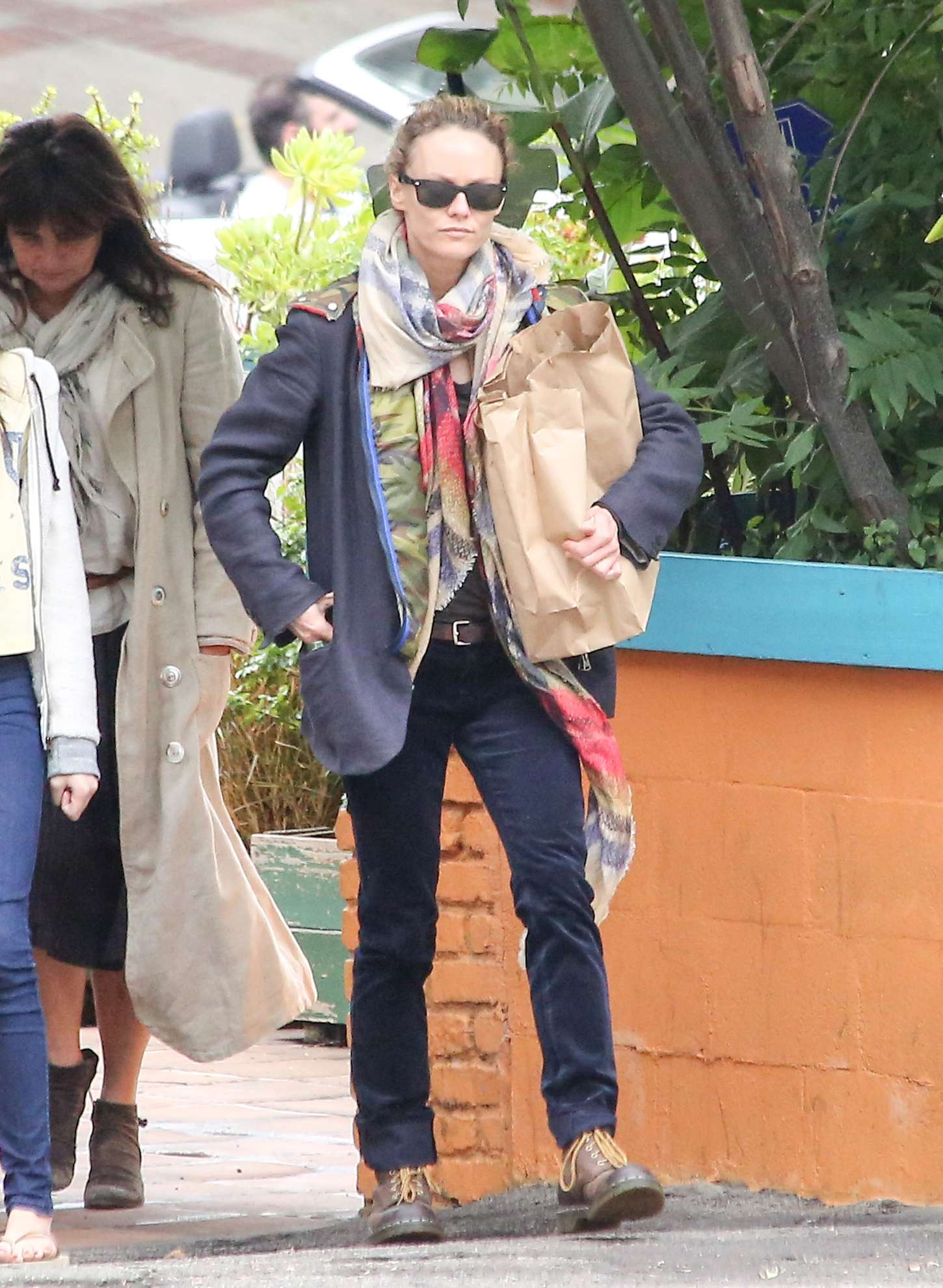 Vanessa Paradis go out in Los Angeles