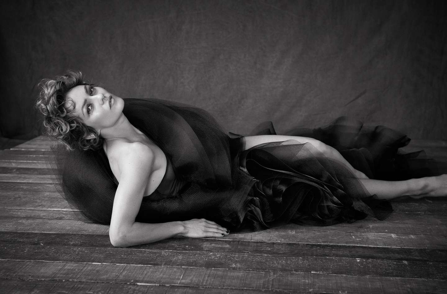 Vanessa Paradis LExpress Styles Photoshoot by Matthew Brookes