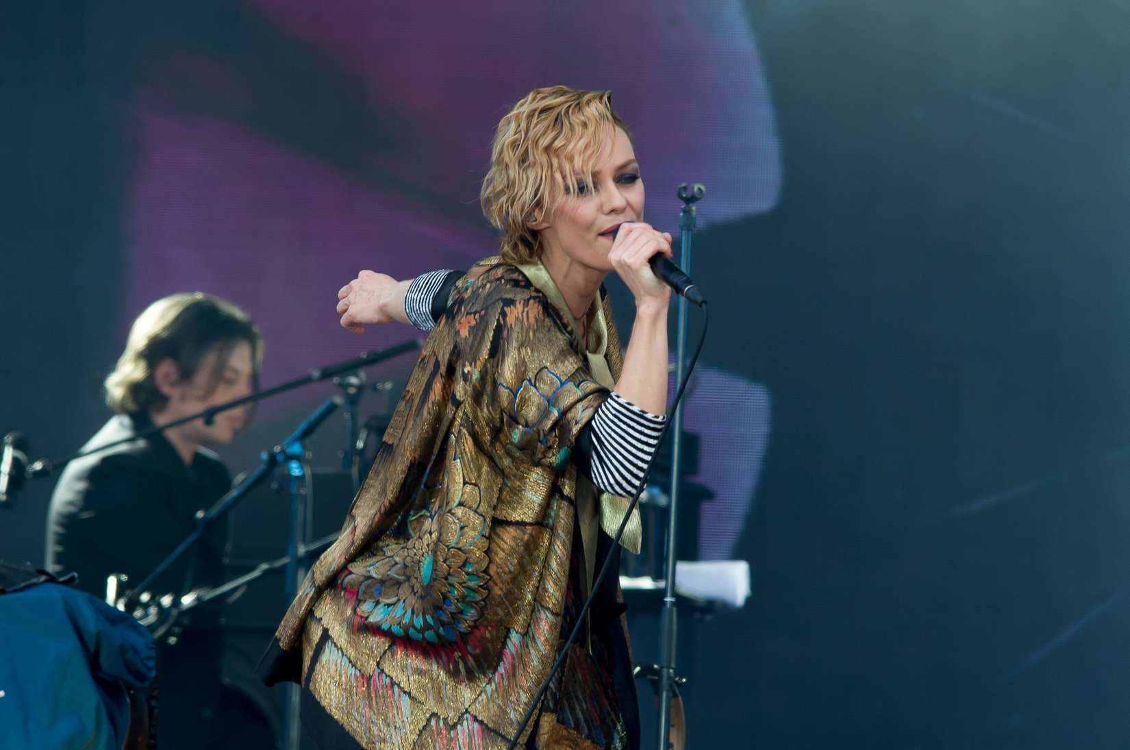 Vanessa Paradis Live at Solidays in Paris