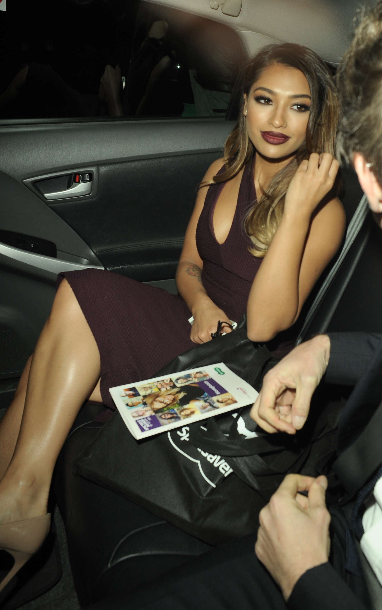 Vanessa White at Specsavers Spectacle Wearer of the Year Awards