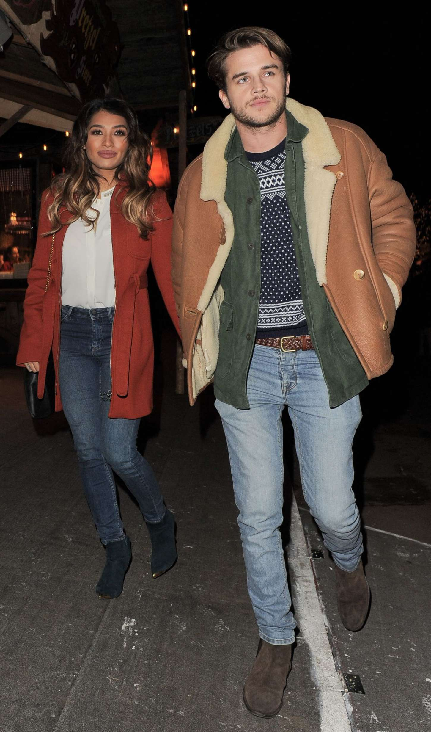 Vanessa White Winter Wonderland VIP Opening in London