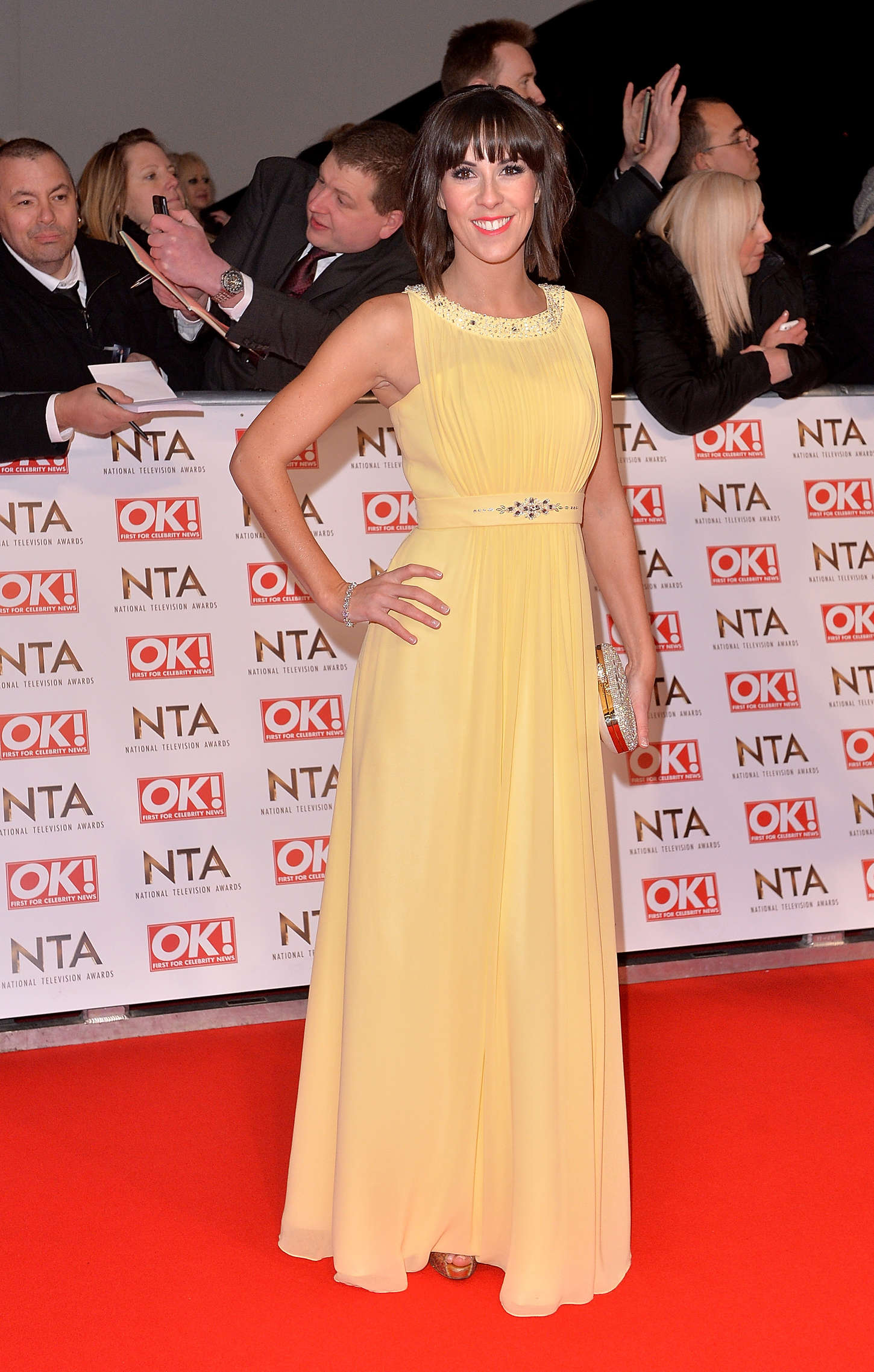 Verity Rushworth National Television Awards In London Celebrity Wiki Onceleb Wiki
