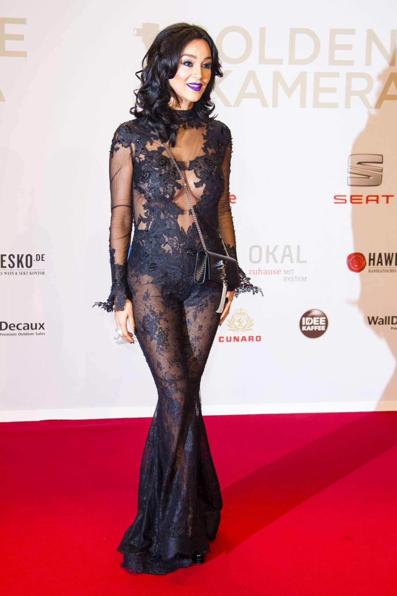 Verona Pooth Annual Goldene Kamera Award in Hamburg