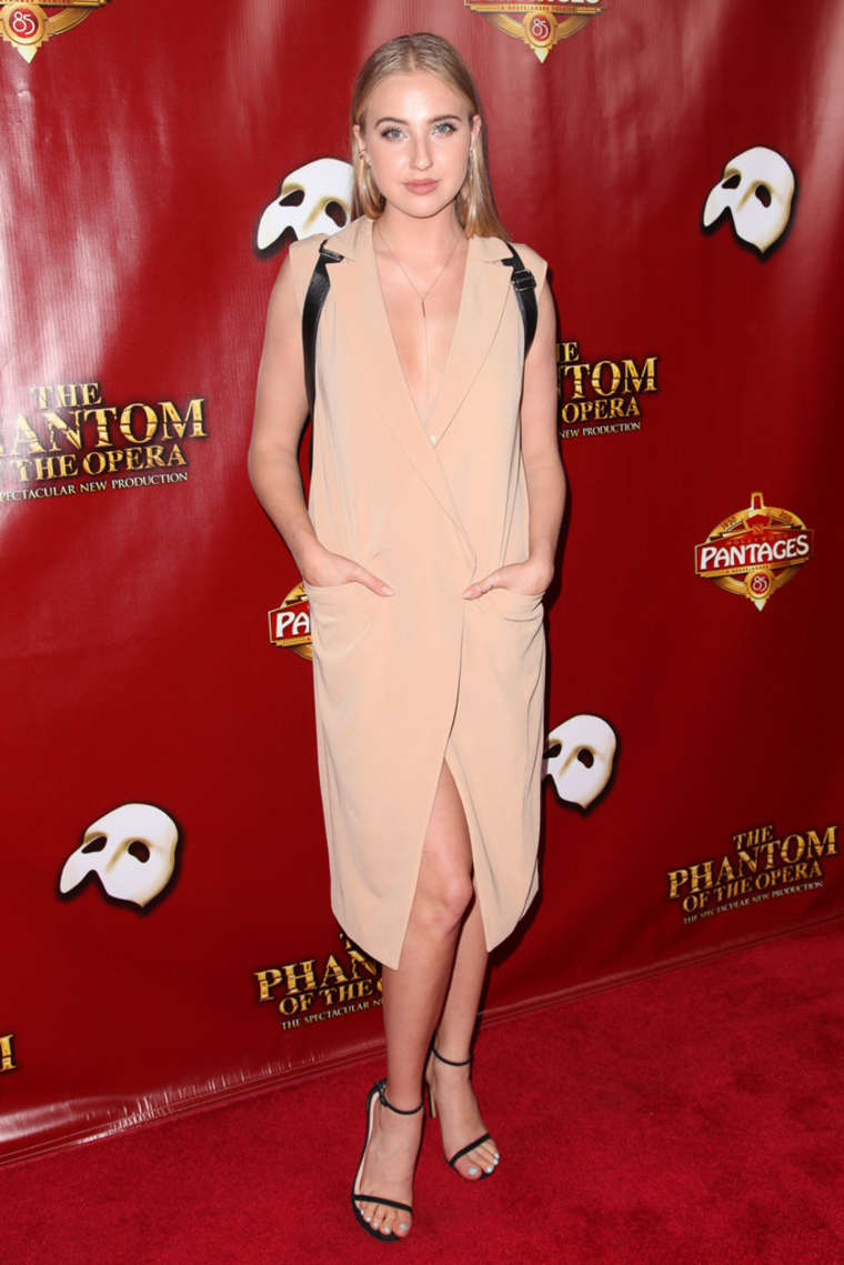 Veronica Dunne The Phantom of the Opera Los Angeles Opening Night in Hollywood