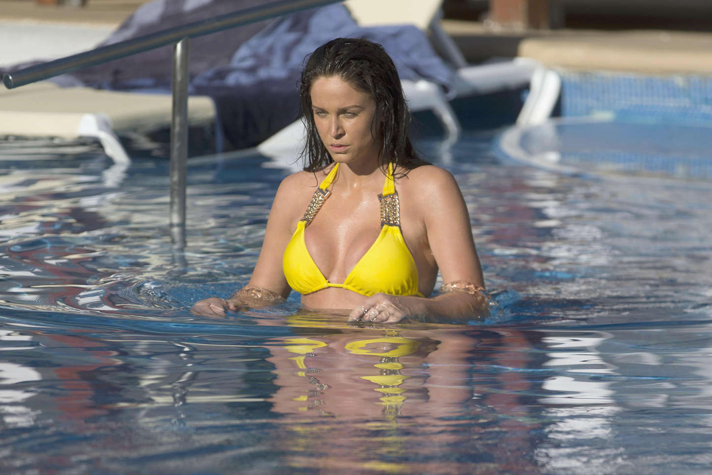 Vicky Pattison Wearing Bikini on holiday in Mexico