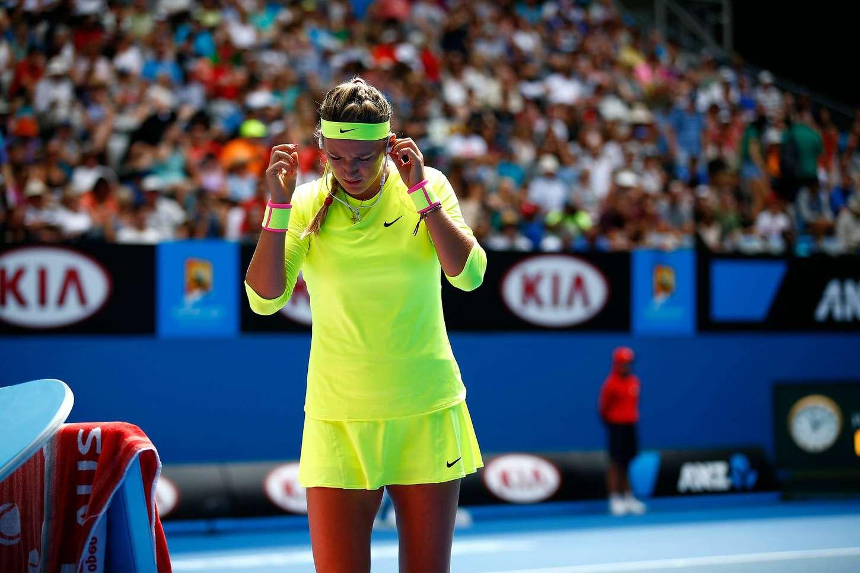 Victoria Azarenka Australian Open in Melbourne Day