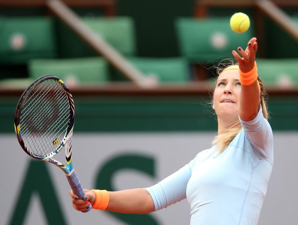 Victoria Azarenka French Open Day