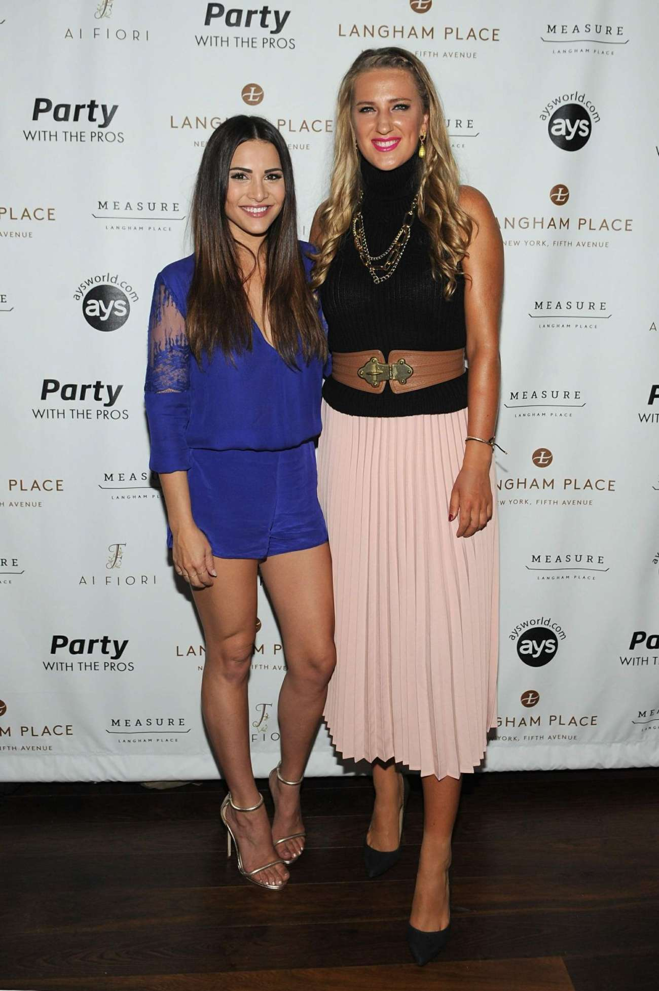 Victoria Azarenka Party with the Pros in New York