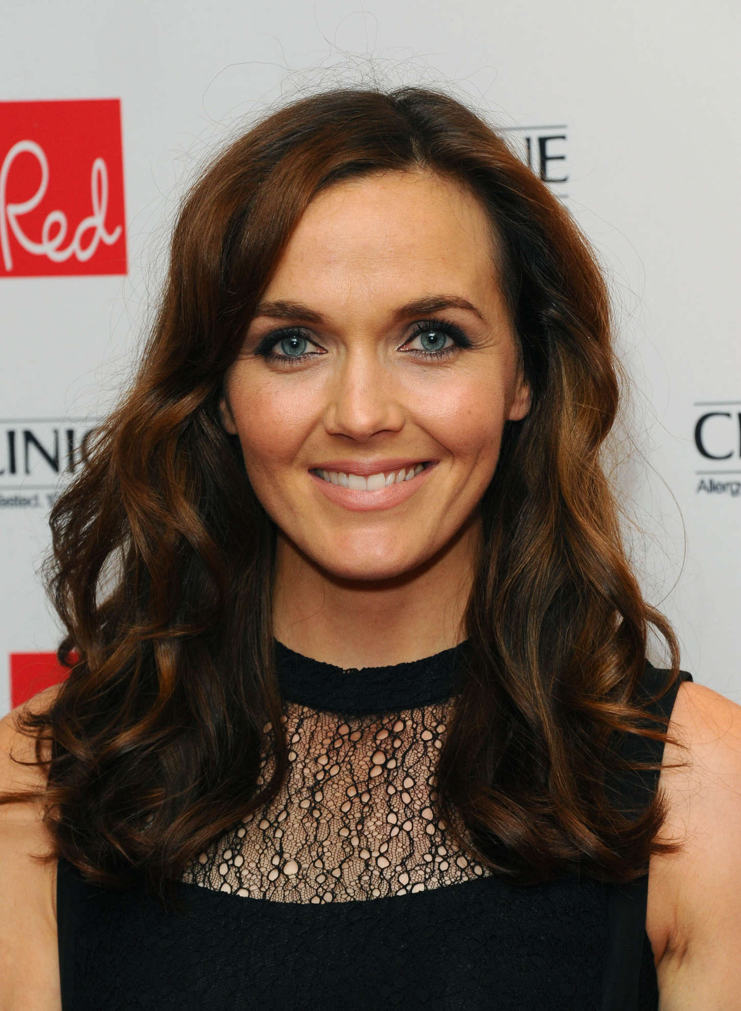 Victoria Pendleton Red Magazine Women Of The Year Awards in London
