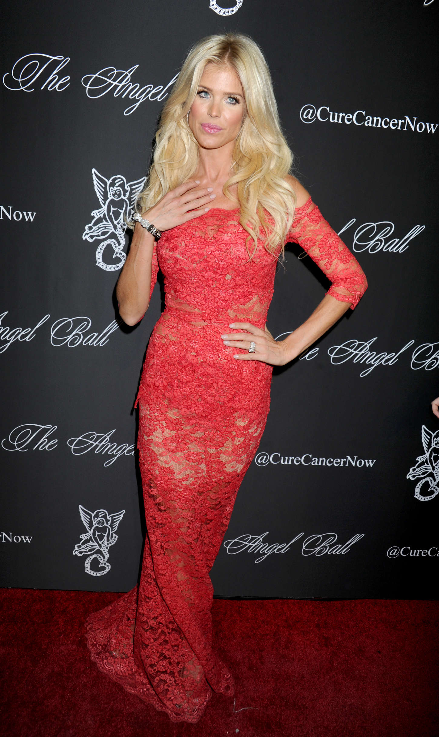 Victoria Silvstedt Gabrielles Angel Foundation Angel Ball in New York