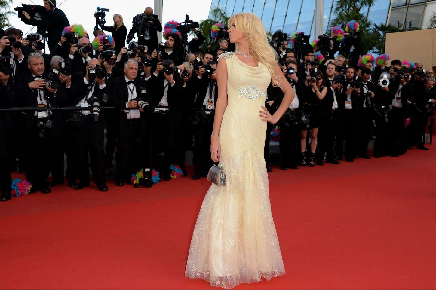 Victoria Silvstedt Screening of MADAGASCAR Cannes FF