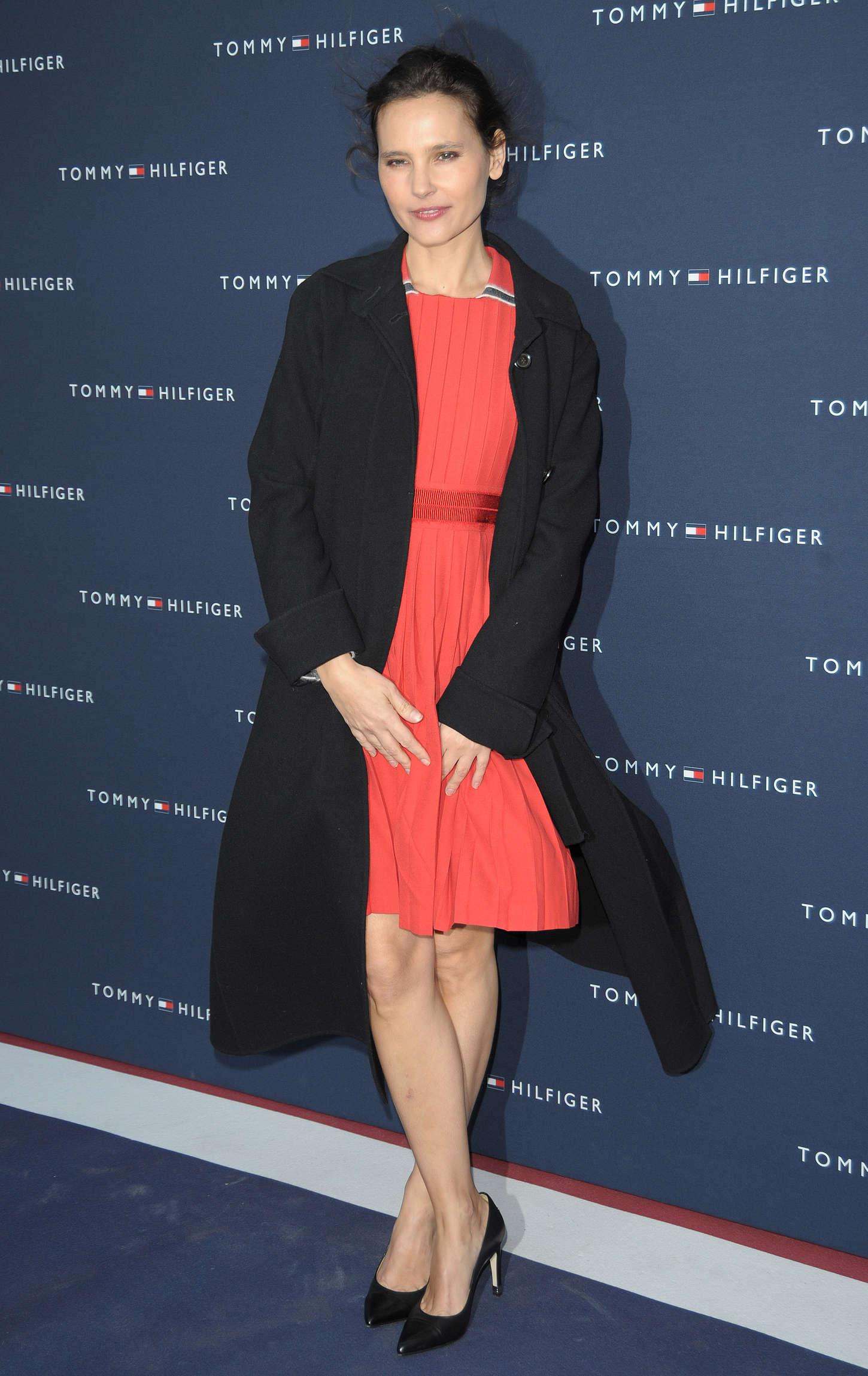 Virginie Ledoyen Tommy Hilfiger Boutique Opening Party in Paris