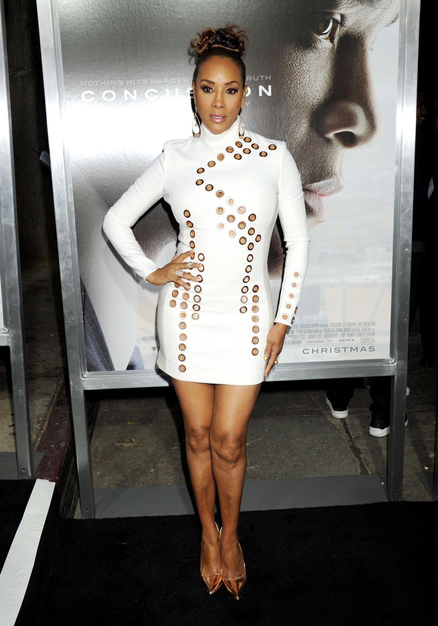 Vivica A Fox Concussion Premiere in Westwood