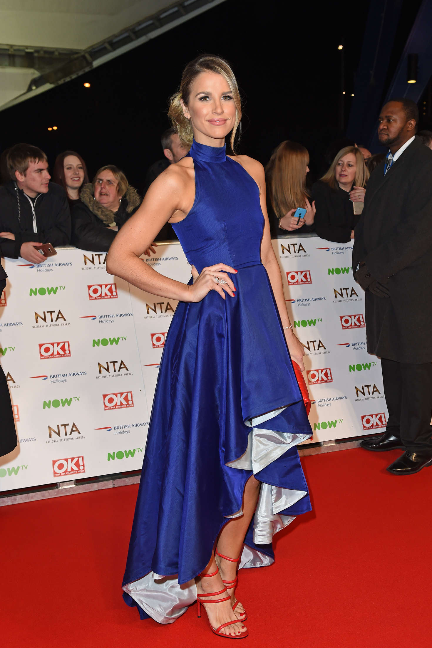 Vogue Williams National Television Awards in London