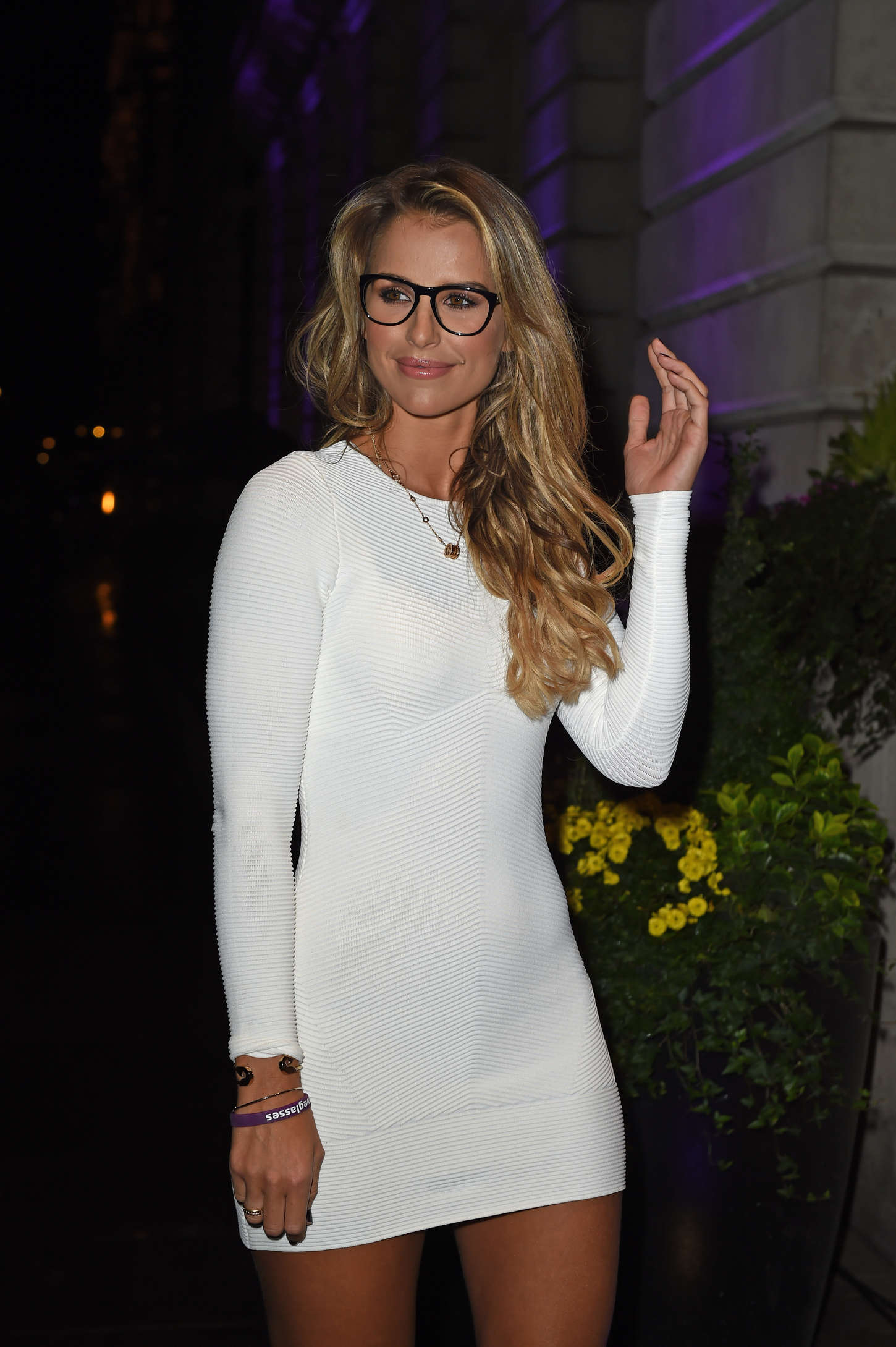 Vogue Williams Specsavers Spectacle Wearer of the Year in London