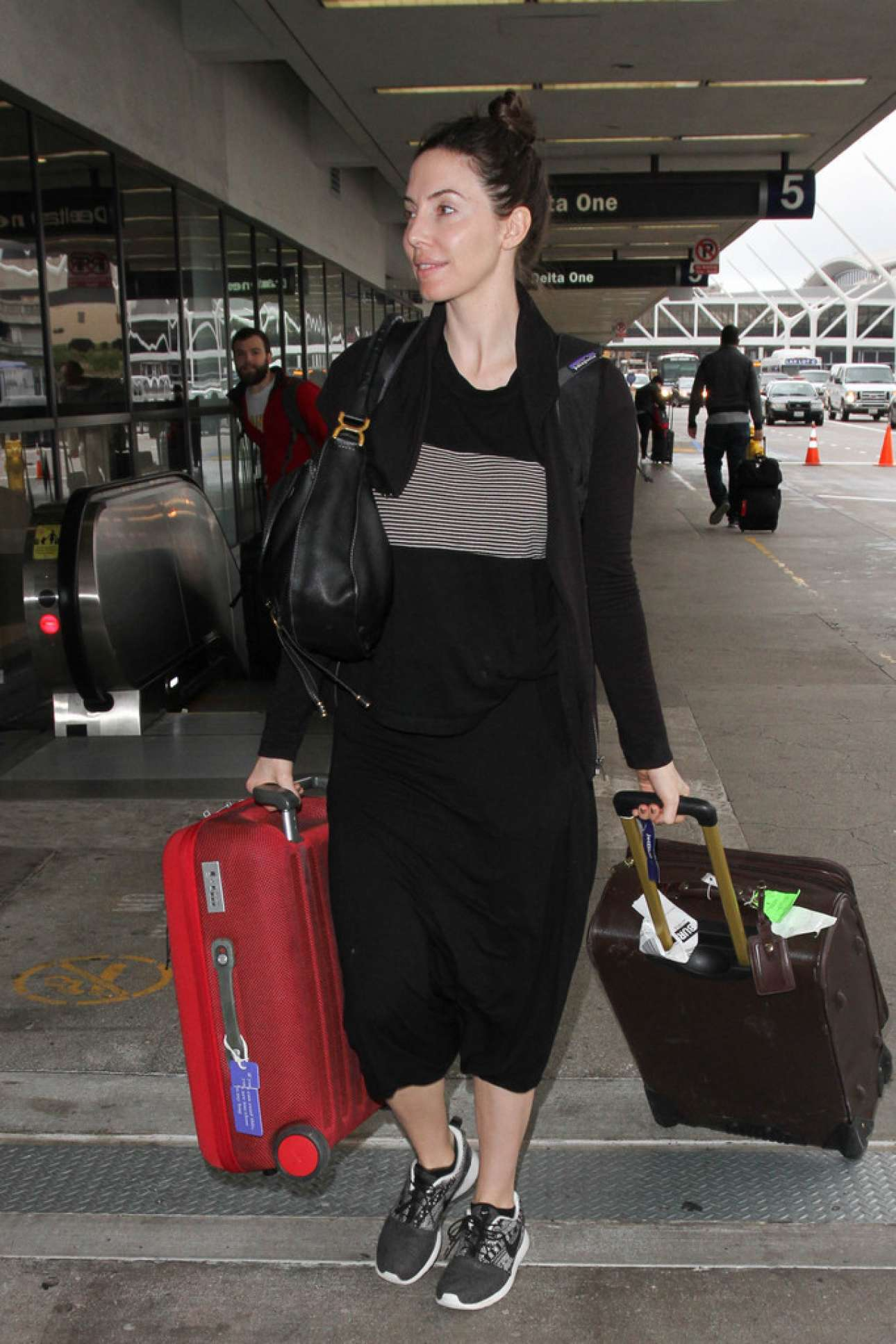 Whitney Cummings is Seen at LAX
