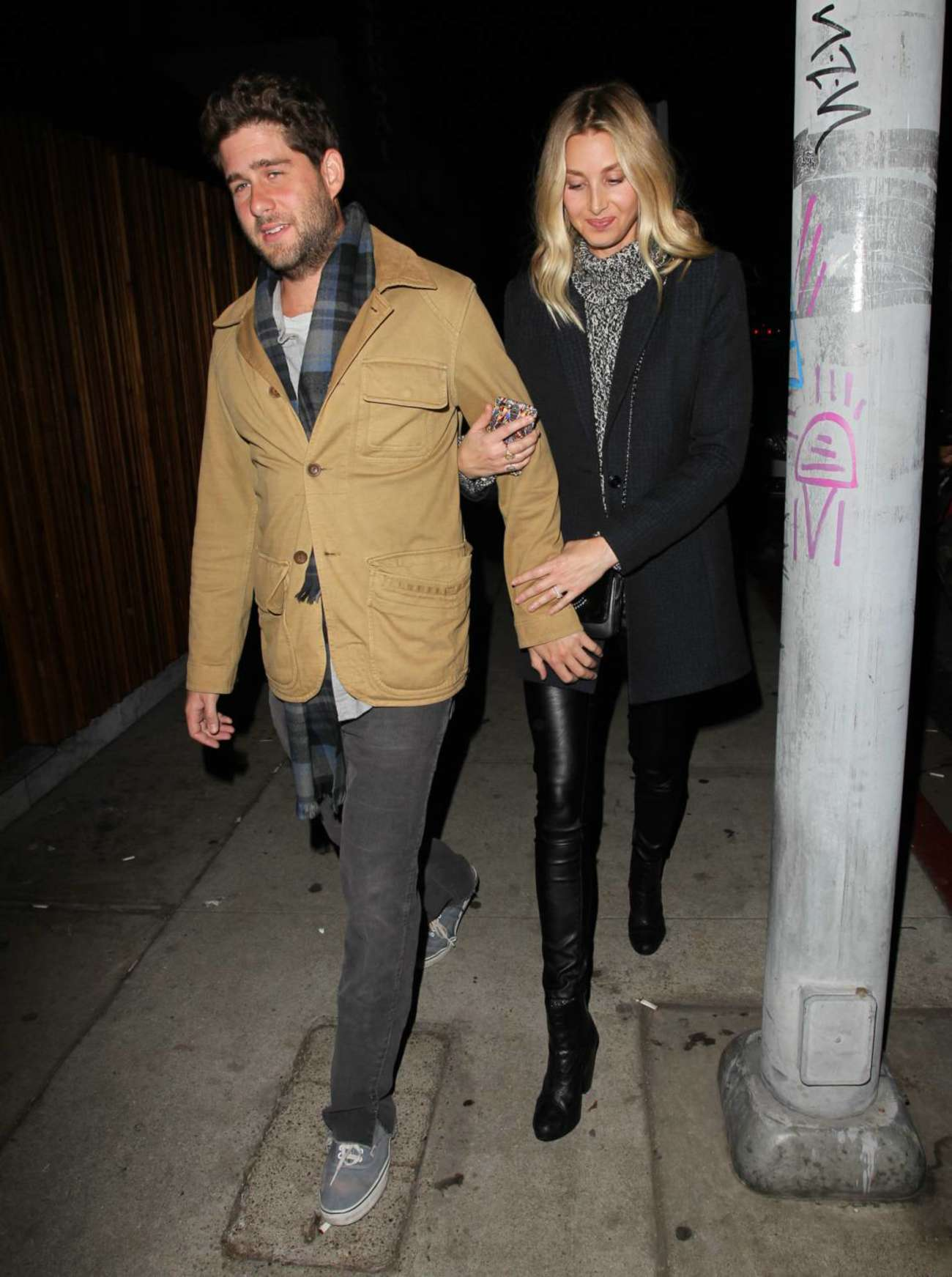 Whitney Port and Tim Rosenman Leaving The Nice Guy in West Hollywood