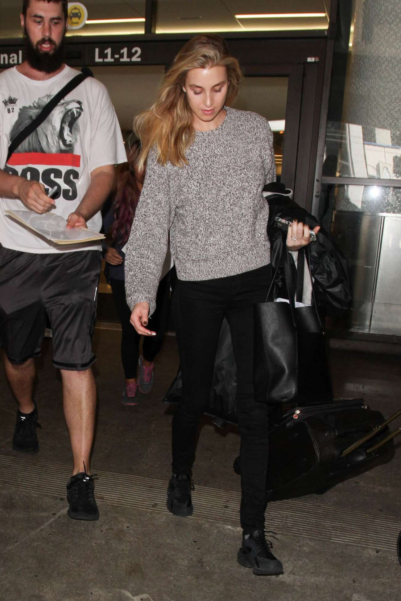 Whitney Port Arrives at Los Angeles International Airport