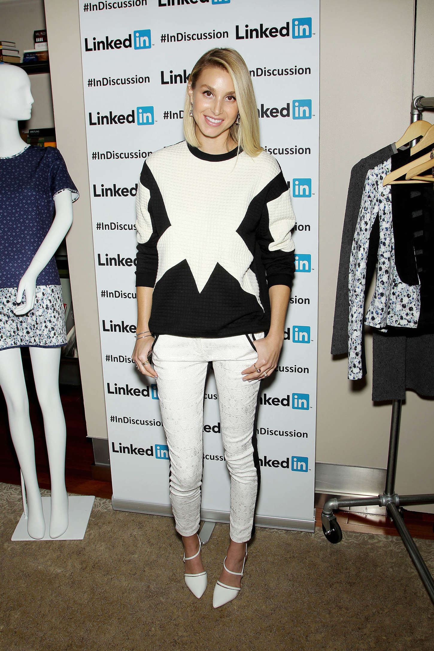 Whitney Port Linkedin Discussion Series in New York