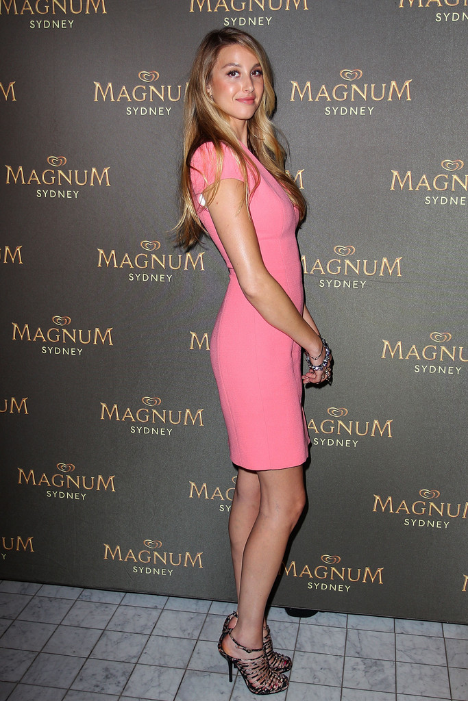 Whitney Port Magnum Sydney Pleasure Store launch