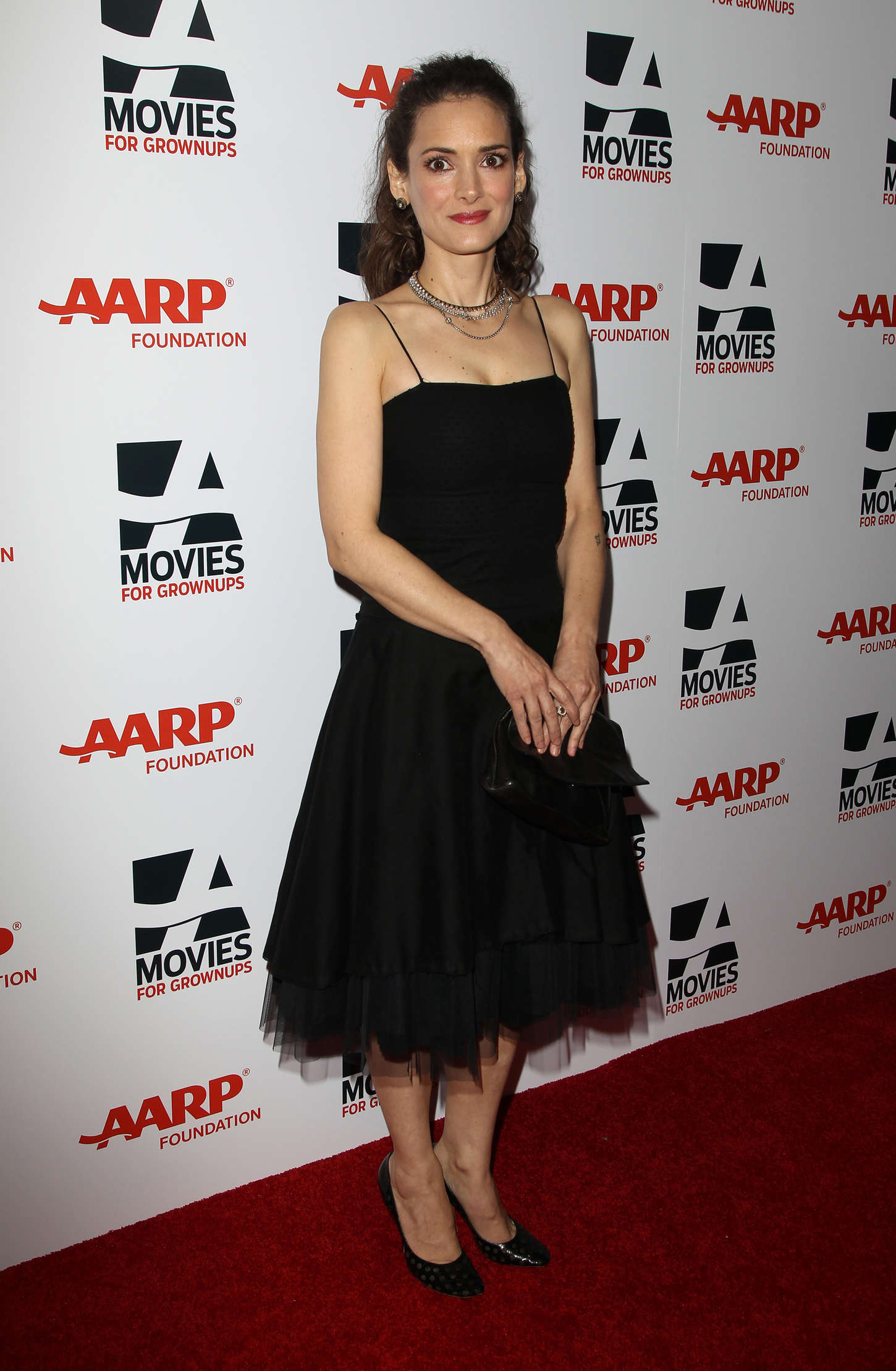 Winona Ryder Annual AARPs Movies for Grownups Awards in Beverly Hills