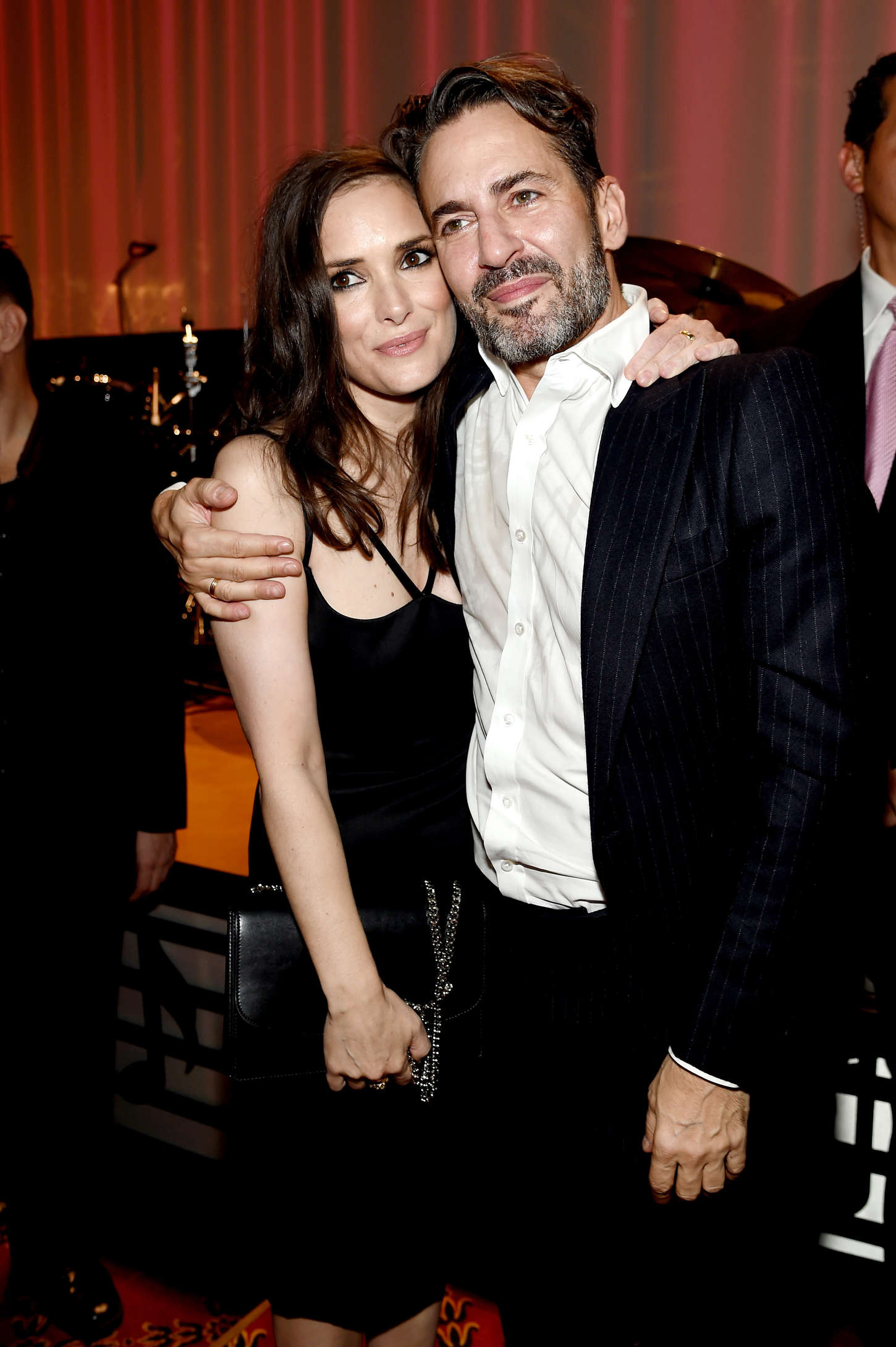 Winona Ryder Marc Jacobs Fashion Show Spring NYFW in New York