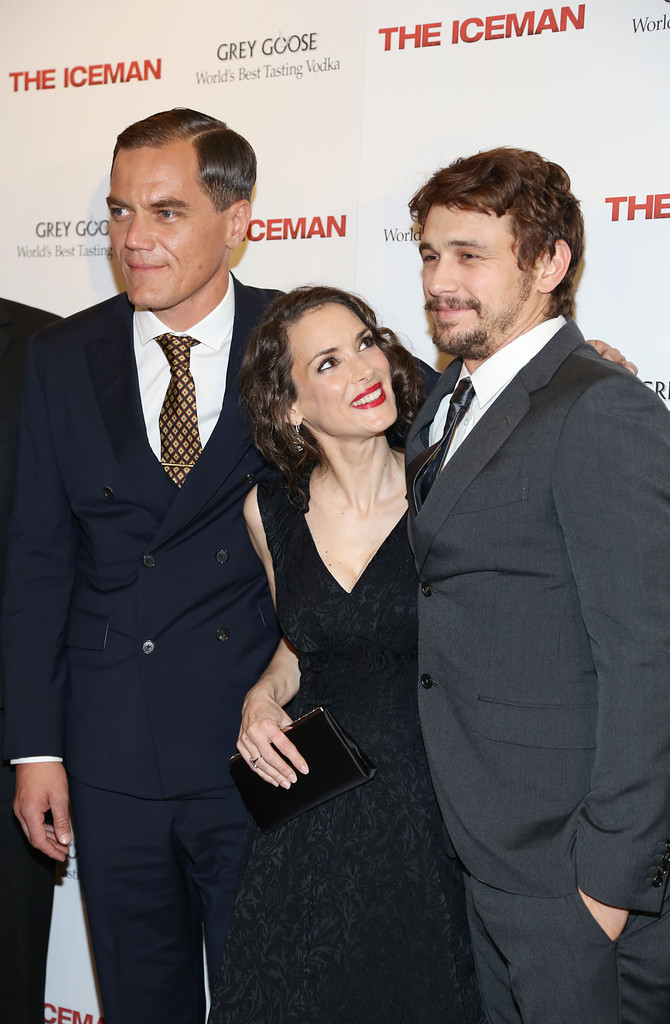 Winona Ryder The Iceman screening in New York