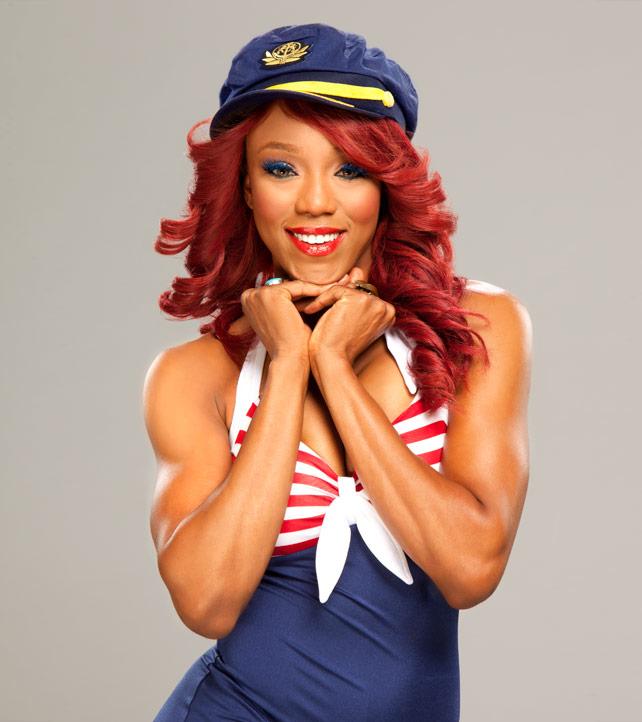 WWE Divas Patriotic Divas