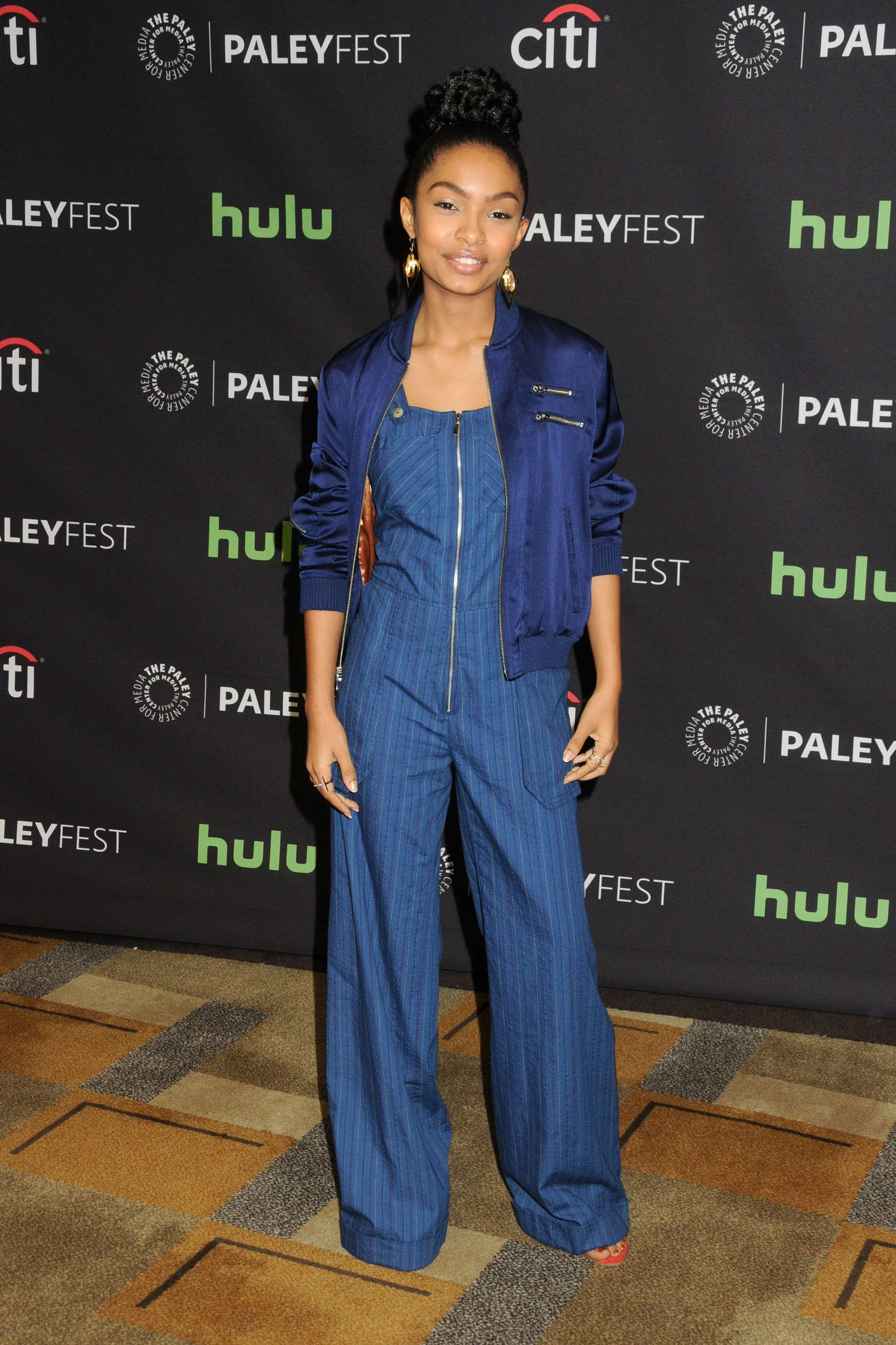 Yara Shahidi Annual PaleyFest Blackish in Hollywood