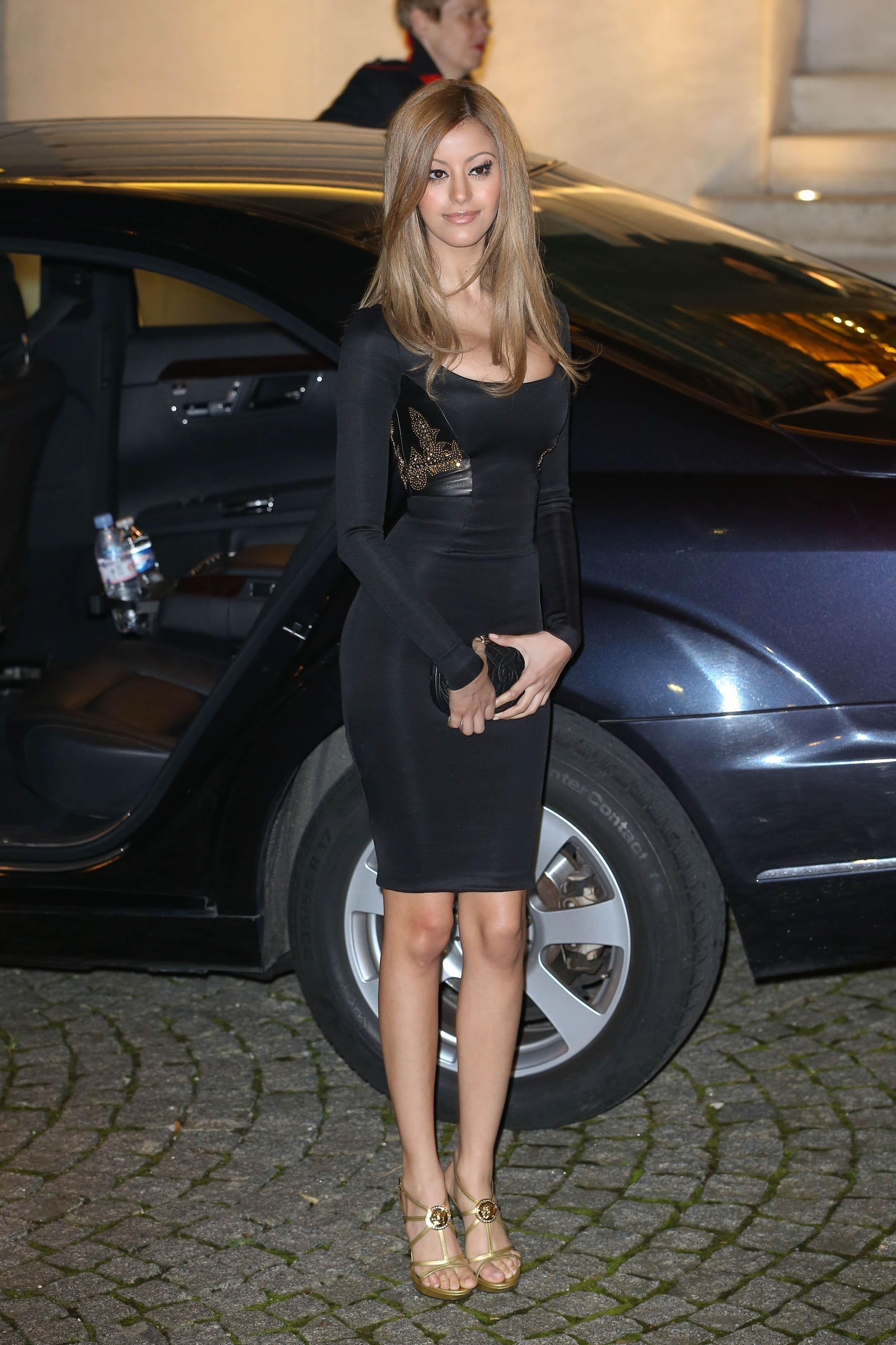 Zahia Dehar Paris Fashion Week