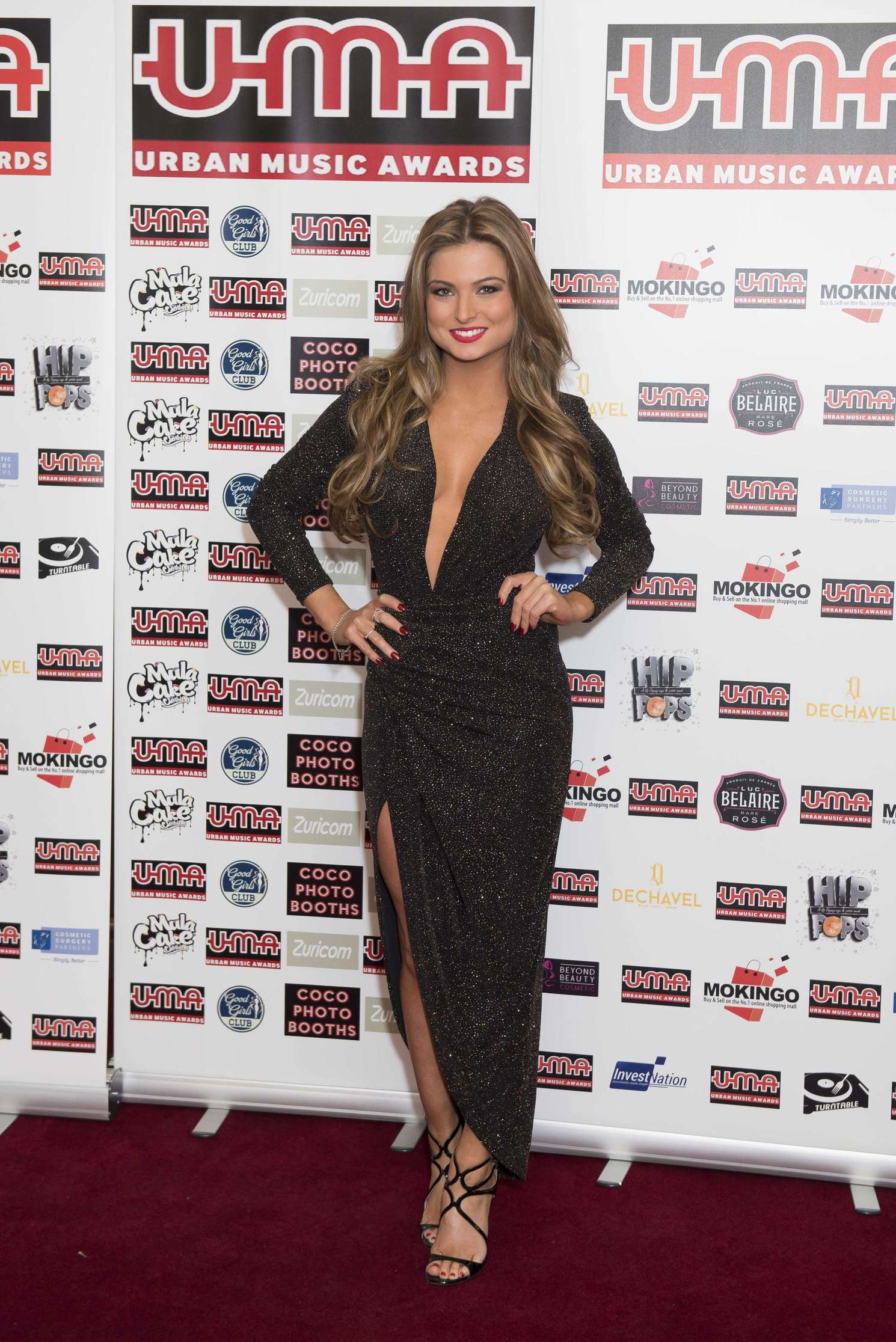 Zara Holland Annual Urban Music Awards in London