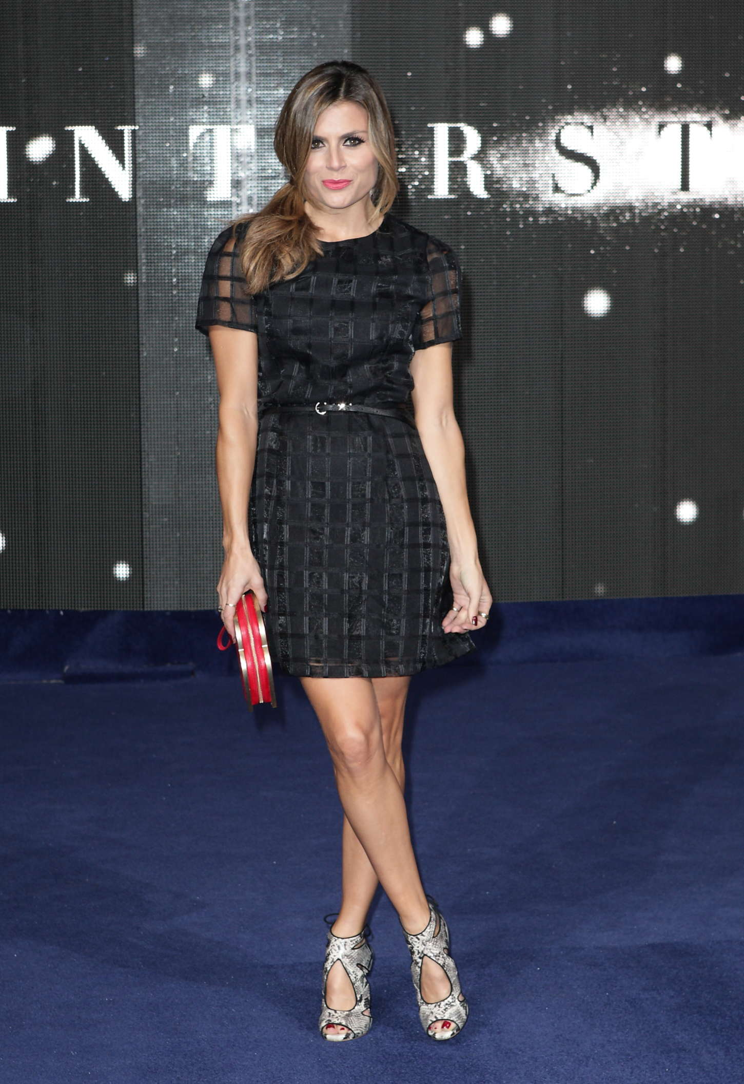 Zoe Hardman at Premiere Interstellar in London