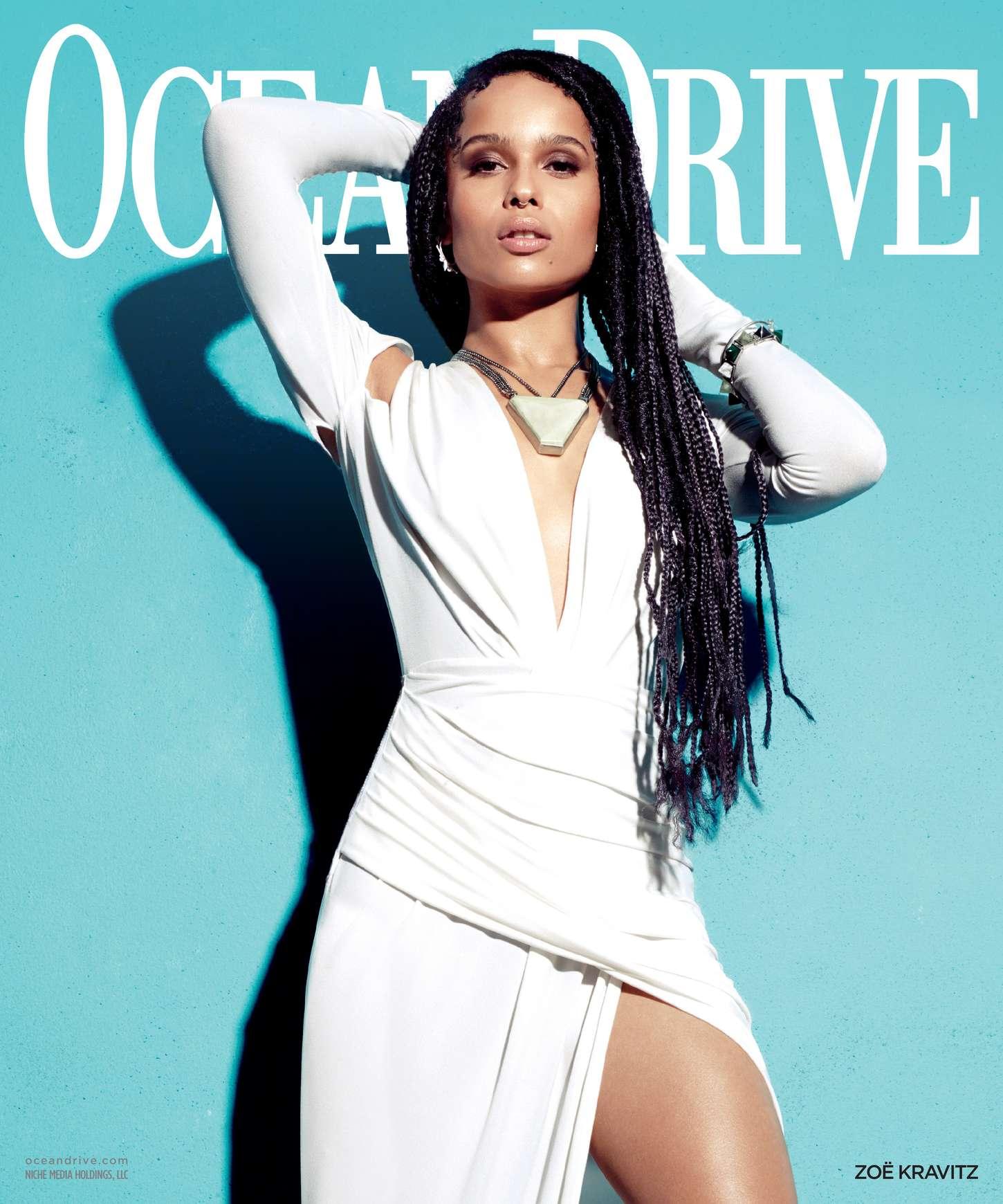 Zoe Kravitz Ocean Drive Magazine